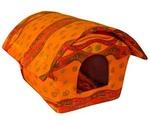 Дом-Будка Для Кошек и Собак Мелких Пород 56*37*32см №1 М-018