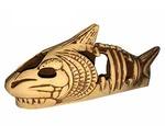 Грот Для Аквариума Акула 22*7*11см Керамика Аква Лого Gg-809602