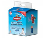 Пеленки Для Собак и Кошек Mr.Fresh (Мистер Фреш) Expert Regular 40*60см 30шт F501