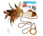 Игрушка Для Кошек Gigwi (Гигви) Рыбка Дразнилка На Палец с Кольцом 7см 75026