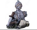 Аквадекор Для Аквариума Dezzie (Деззи) Доспехи Рыцаря Пластик 12*9*10,5см 5626186