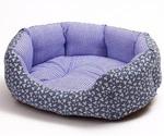 Лежак Для Собак Манчестер Ромашка №2 М-233, 61*48*17см