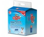 Пеленки Для Собак и Кошек Mr.Fresh (Мистер Фреш) Expert Regular 60*60см 24шт F502
