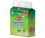 Пеленки Для Щенков и Котят Mr.Fresh (Мистер Фреш) Expert Start 90*60см 8шт F506