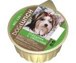 Консервы Для Собак Dog Lunch (Дог Ланч) Говядина и Овощи Крем-Суфле 125г Ламистер