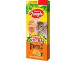 Палочки Для Хомяков и Мышей Happy Jungle Мелких Грызунов Мед Фрукты 90г 3шт J210