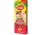 Палочки Для Хомяков и Мышей Happy Jungle Мелких Грызунов Мед Ягоды 90г 3шт J208