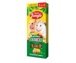 Палочки Для Хомяков и Мышей Happy Jungle Мелких Грызунов Медовый Микс 90г 3шт J211