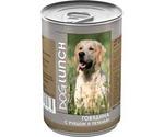 Консервы Для Собак Dog Lunch (Дог Ланч) Говядина, Рубец и Печень Паштет 410г