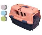 Переноска Для Кошек и Собак Мелких Пород Турне 48*32*32см Прозрачная Пластиковая Дверь Zooexpress 16001