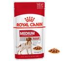 Влажный Корм Royal Canin (Роял Канин) Для Собак Средних Пород в Соусе Medium Adult 140г