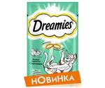 Лакомство Для Кошек Dreamies Лакомые Подушечки Кролик 60г (1*6)