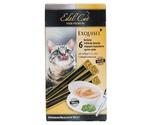 Лакомство Для Кошек Edel Cat (Эдель Кэт) Крем-Суп Птица и Печень 15г (1*6)